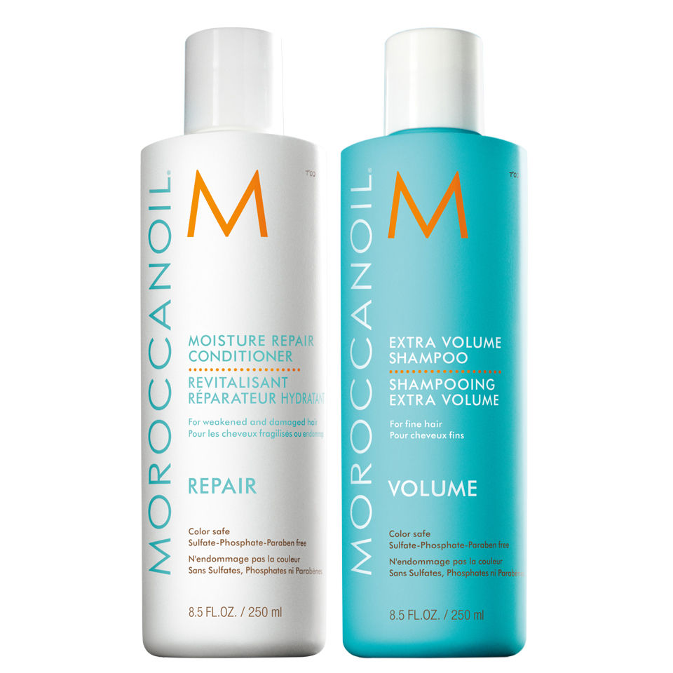 moroccanoil moisture repair shampoo and conditioner duo 2x250ml