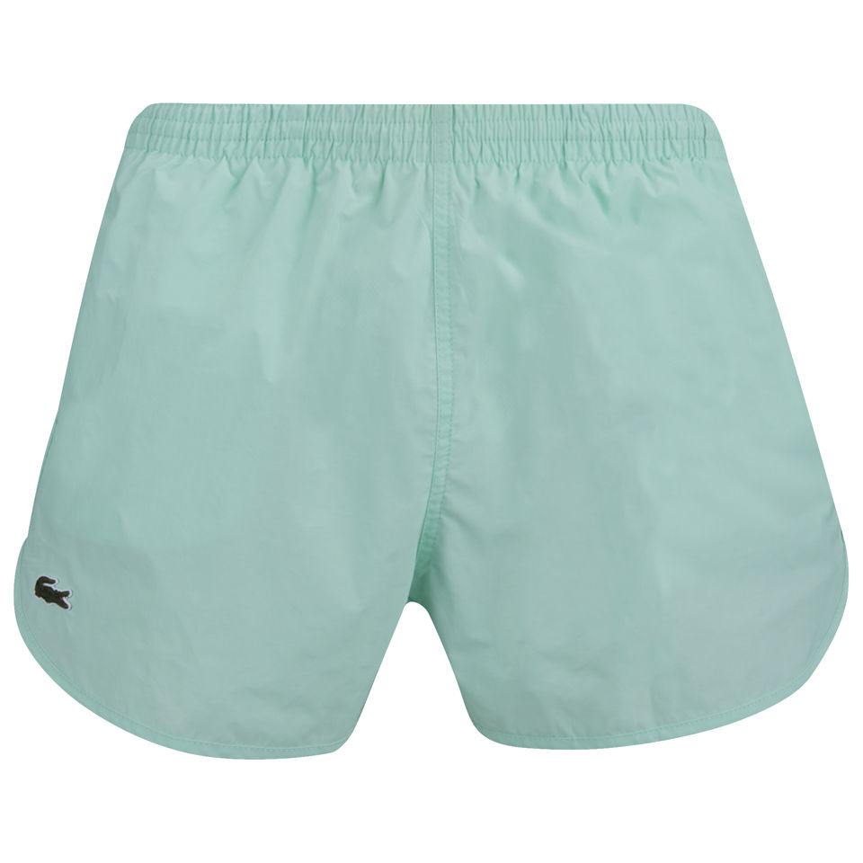 7d3571c7fa Lacoste Live Men's Swim Shorts - Moorea Green - Free UK Delivery ...