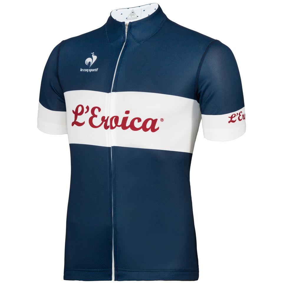 e7a55d085111 Le Coq Sportif Men s L Eroica Performance Jersey - Blue - Free UK ...