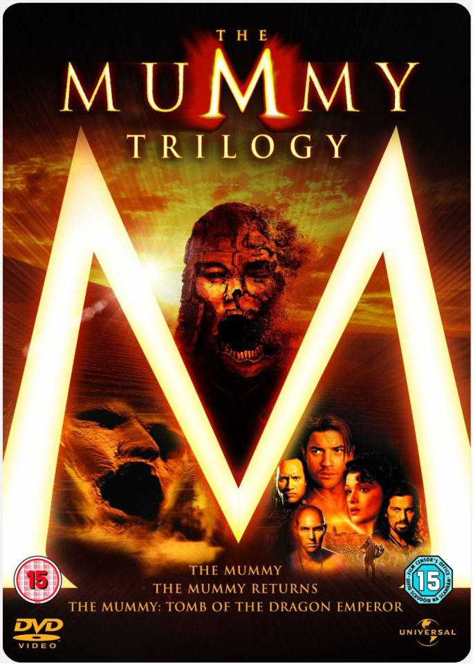 The Mummy Trilogy Box Set Steelbook Dvd Zavvi