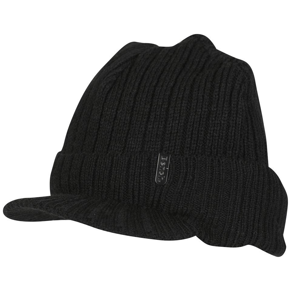 b7d01f5345ae54 Bench Men's Daryl Peak Beanie Hat - Black Clothing   Zavvi