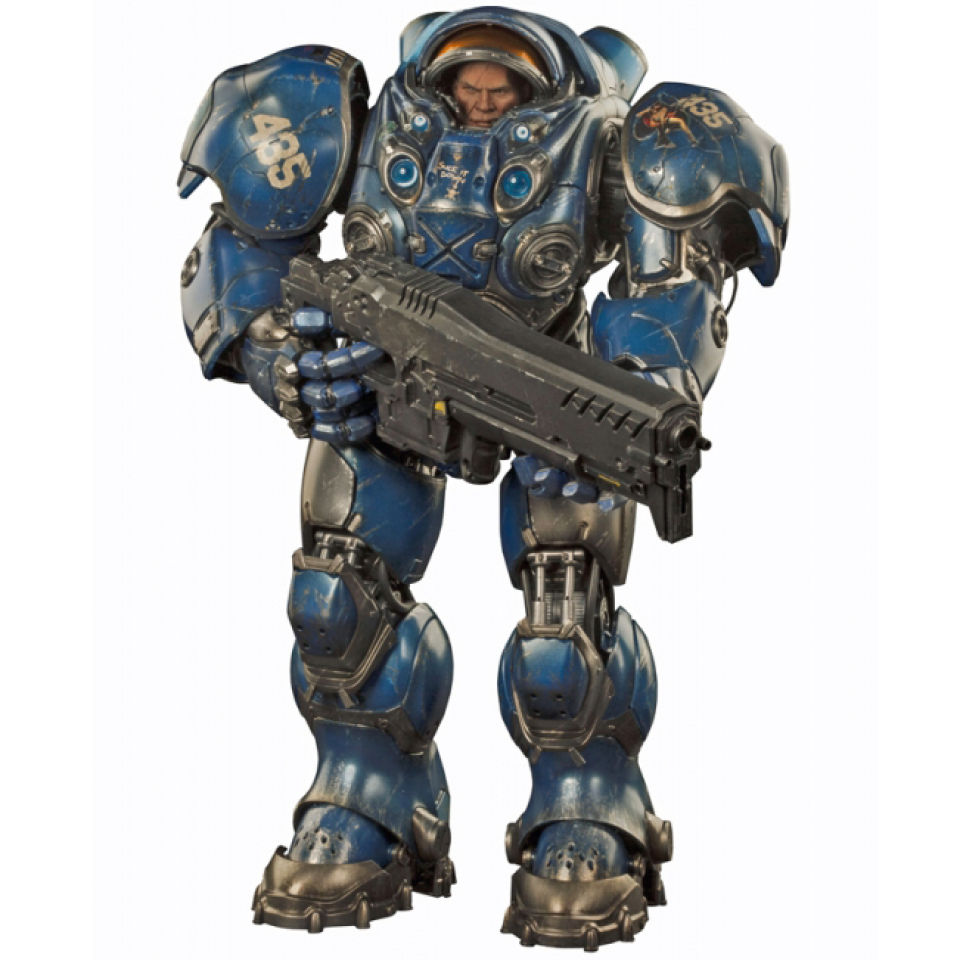 1//6 Scale StarCraftⅡ Terran Marine Gauss Rifle Collectible Figure New