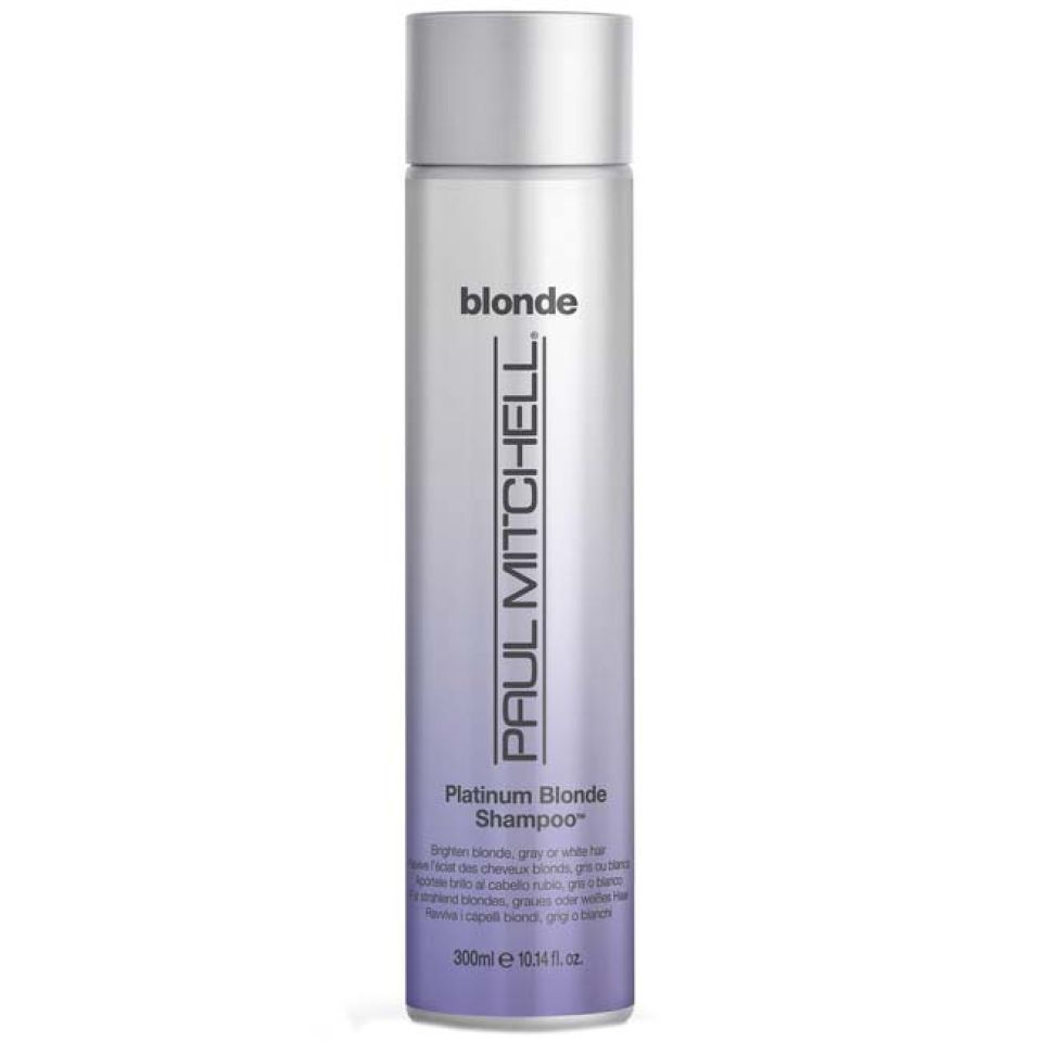 paul mitchell platinum blonde shampoo 300ml free shipping reviews lookfantastic. Black Bedroom Furniture Sets. Home Design Ideas