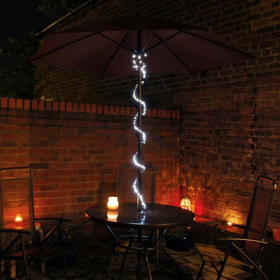 Blingstring solar fairy lights 120 led bulbs iwoot - Iluminacion exterior led solar ...