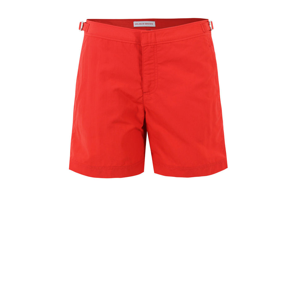 bdd7222534 Orlebar Brown Men's Bulldog Swimshorts - Red - Free UK Delivery over £50