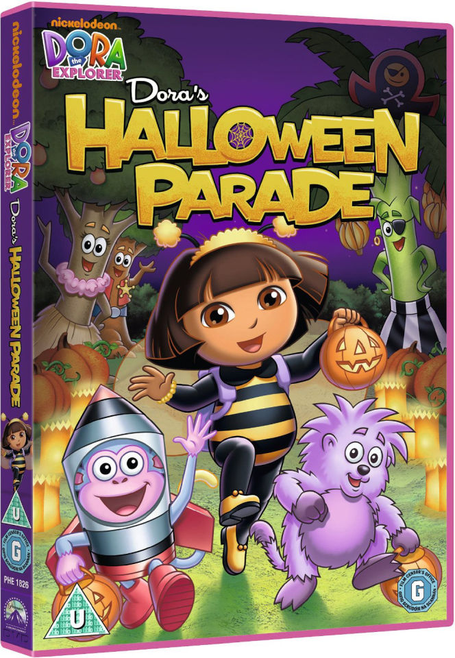 dora the explorer doras halloween parade dvd zavvi