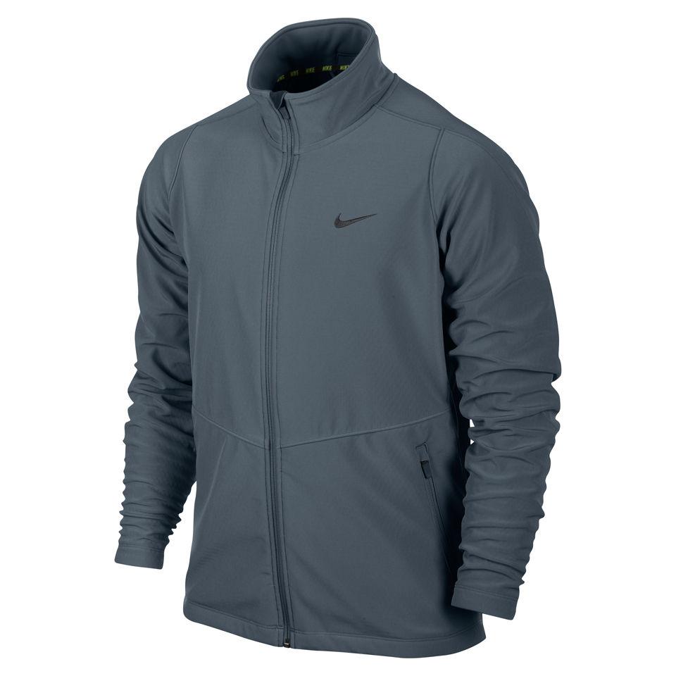 Nike Herren Max Soft Shell Jacke Grau