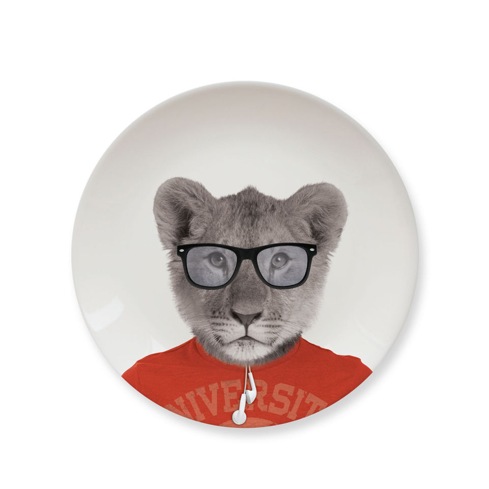 Wild Dining Lion Cub - Ceramic Side Plate