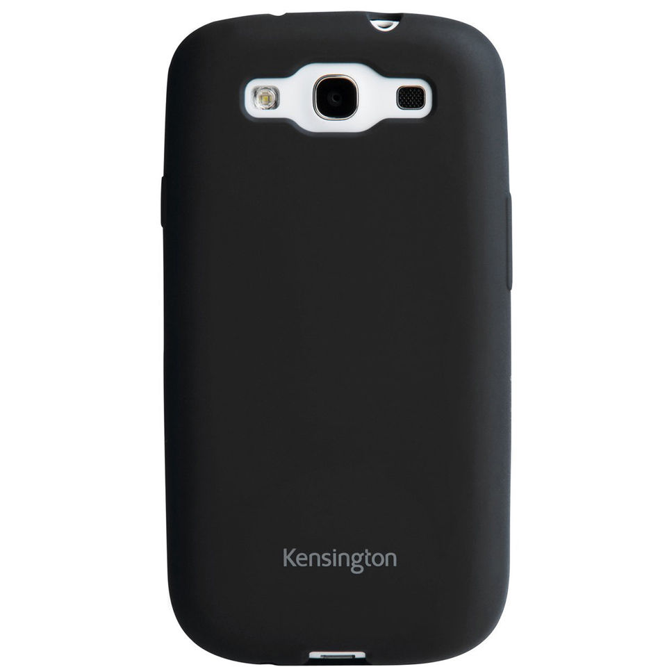 Kensington Soft Case for Samsung Galaxy S3 - Black