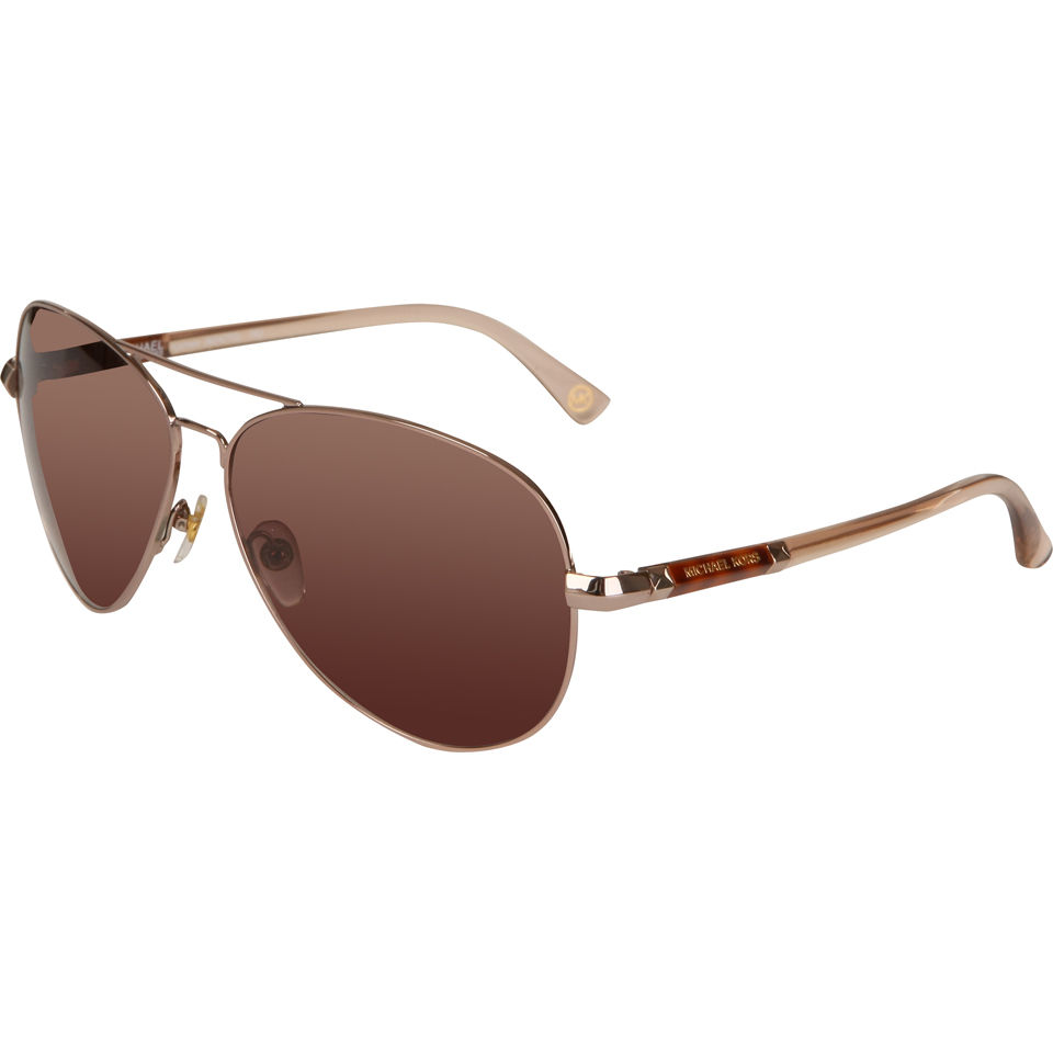 a75366c6bcd MICHAEL MICHAEL KORS Karmen Aviator Sunglasses - Rose Gold - Free UK  Delivery over £50