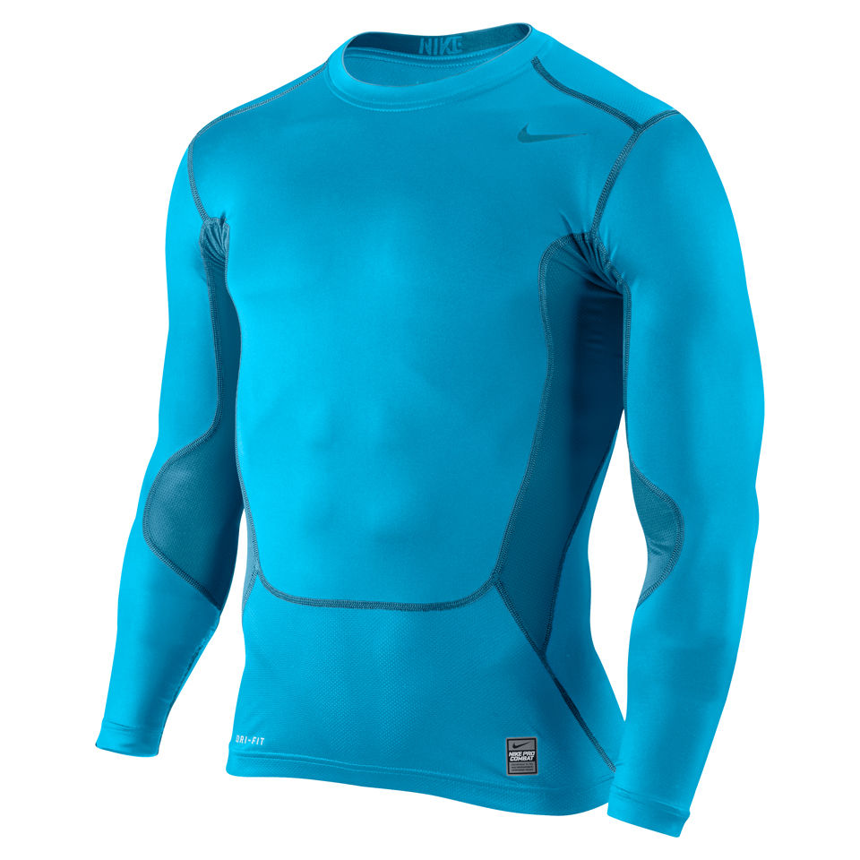 9ccc628f Nike Men's Hypercool Compression Long Sleeve Top 2.0 - Vivid Blue.  Description. Made from Dri-FIT ...
