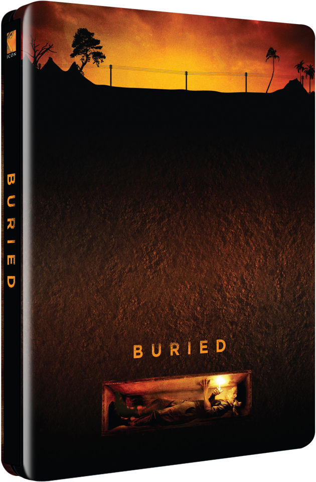 Buried - Zavvi Exclusive Limited Edition Steelbook (Ultra Limited Print Run)