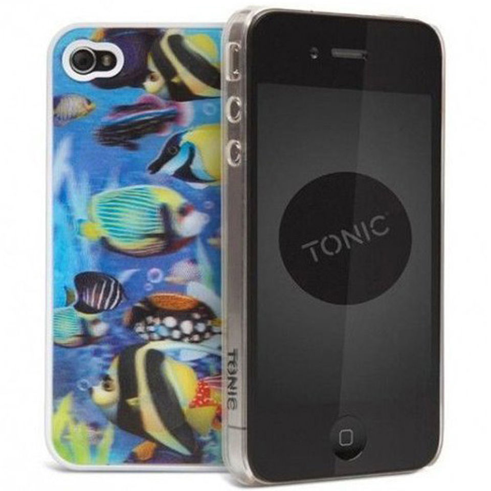 Cygnett Tonic iPhone 4 Case - 3D Fish