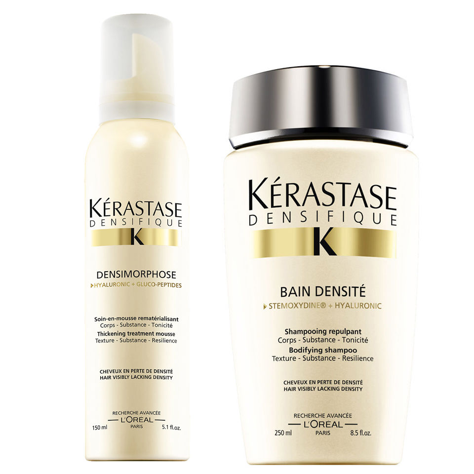 K rastase densifique bain densite 250ml and mousse for Kerastase bain miroir conditioner