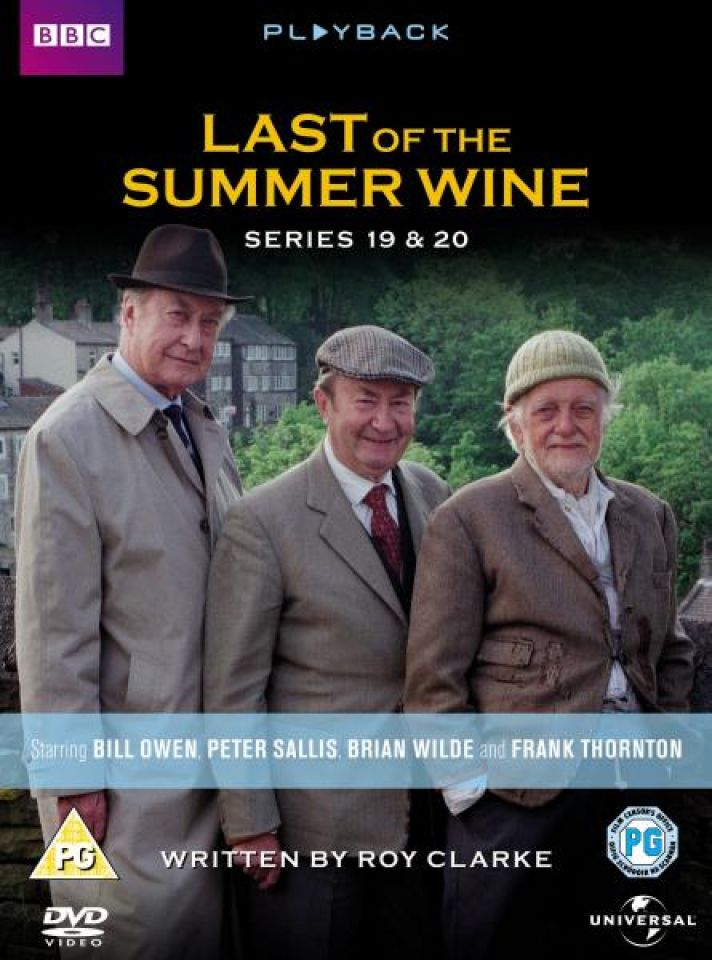 Last Of The Summer Wine Series 19 20 Dvd Zavvi