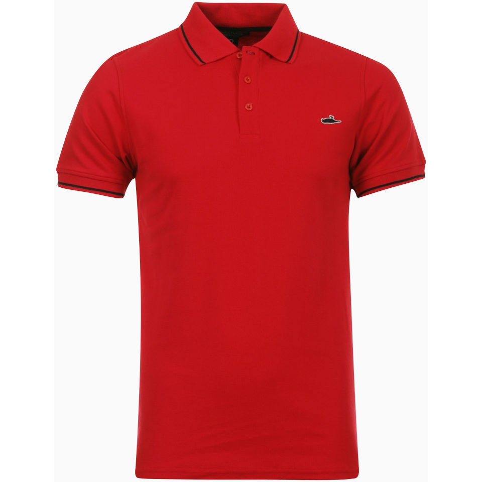 495238cb Atticus Mens Sant Polo Shirt - Red Clothing | Zavvi