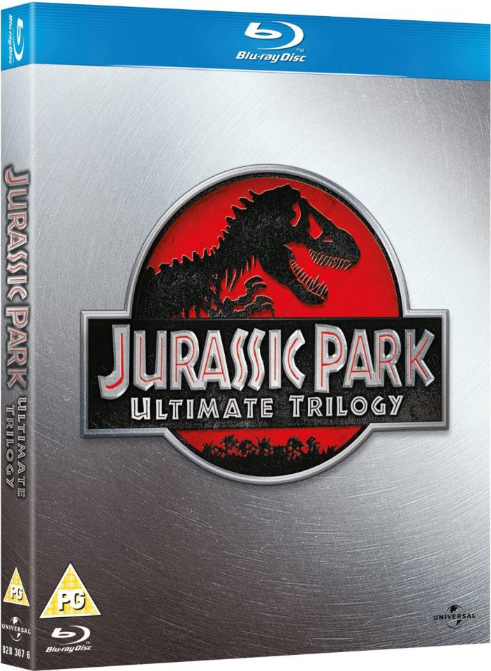 Jurassic Park Ultimate Trilogy Blu Ray Zavvi