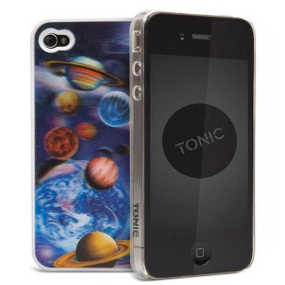 Coque 3D pour iPhone 4 -Galaxie -Cygnett