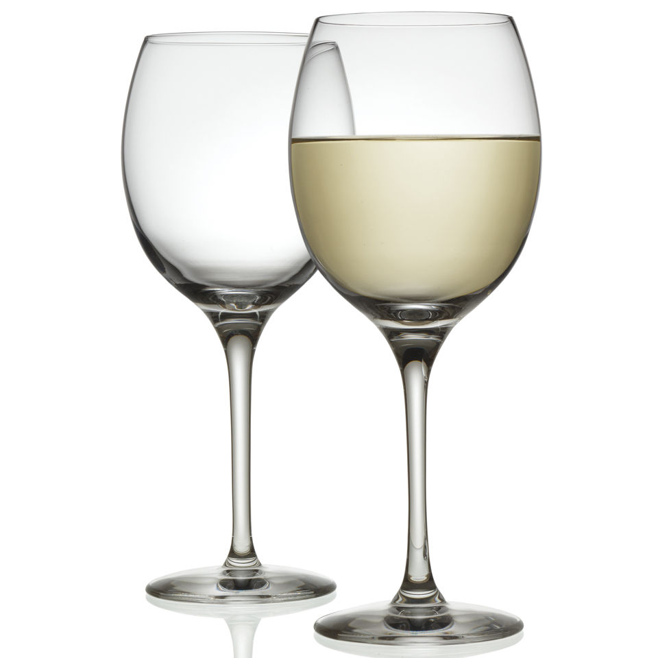Alessi Mami XL Set of 2 White Wine Glasses