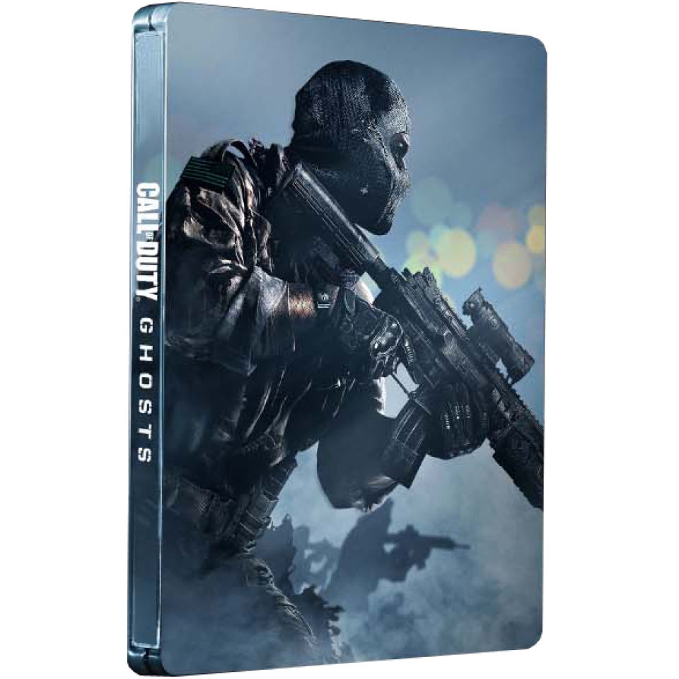 Here Be Porpoises Call Of Duty Ghosts: Call Of Duty: Ghosts - Steelbook Edition PS4