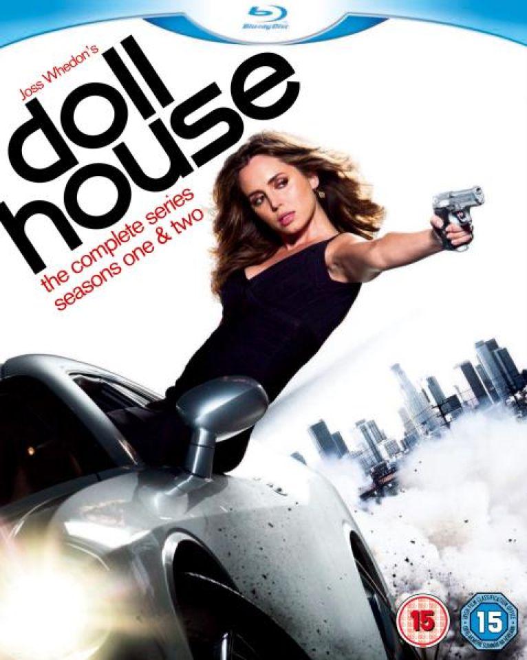 Dollhouse Season 1 2 Complete Blu Ray Zavvi