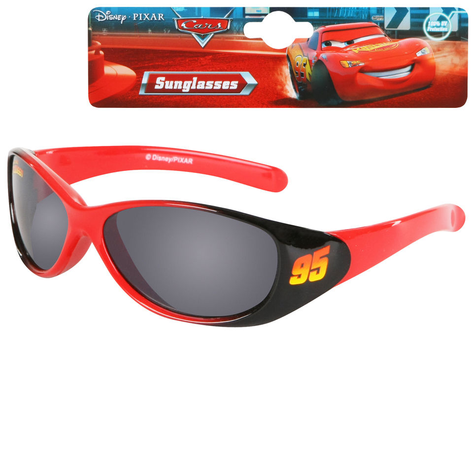 Cars 2 Sunglasses - Black and Red