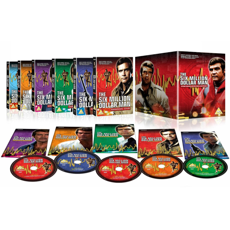 The Six Million Dollar Man - Complete Series
