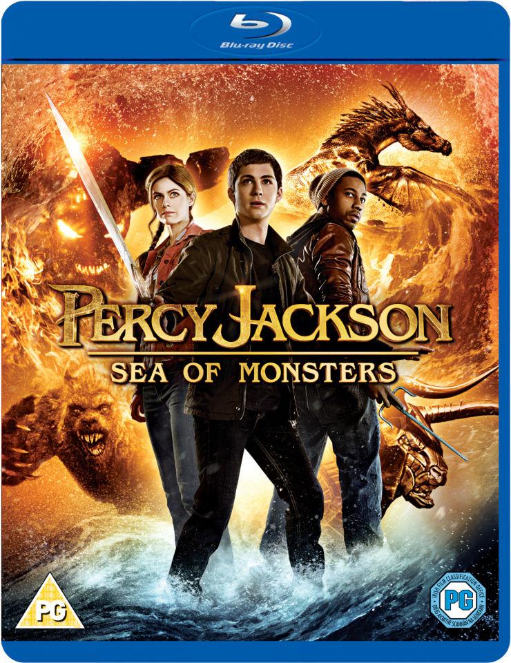 Percy Jackson Sea Of Monsters Blu Ray Zavvi