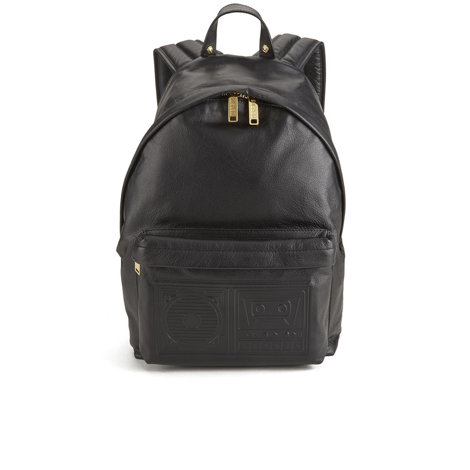 Versus Versace Men s Boombox Backpack - Black - Free UK Delivery ... bfe493301087f