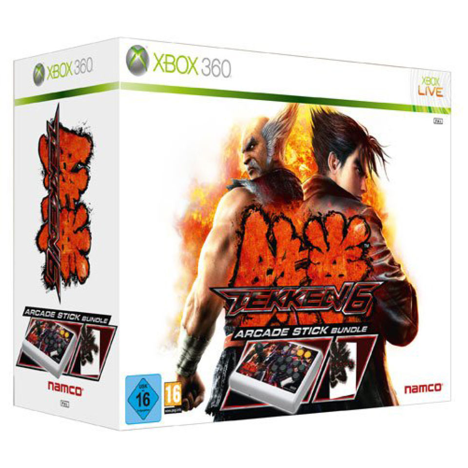 Tekken 6 Arcade Stick Edition Xbox 360 Zavvi Us