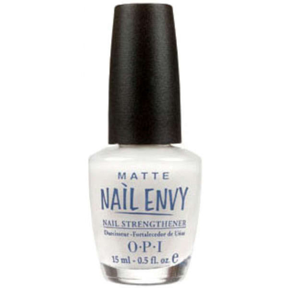 Description Strength Is Beauty And Opi Delivers Just That With Nail Envy Matte