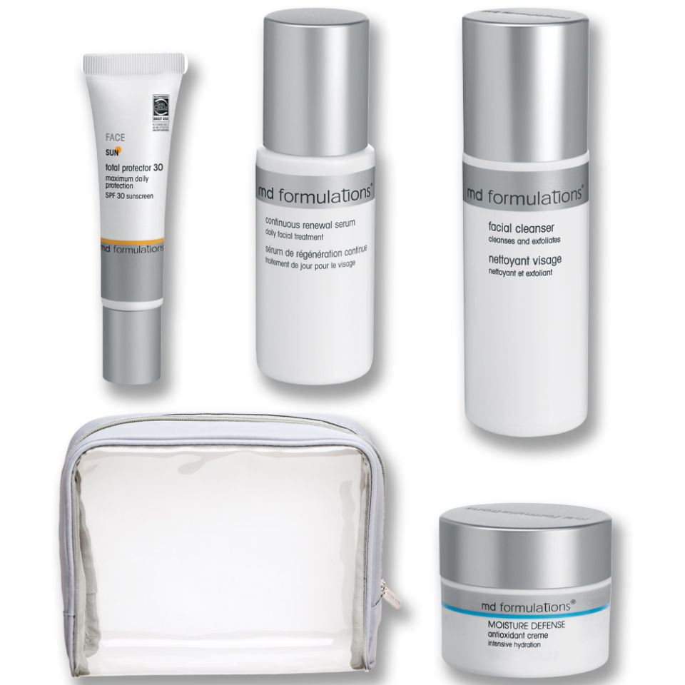 MD Formulations Travel Kit - Normal to Dry Skin