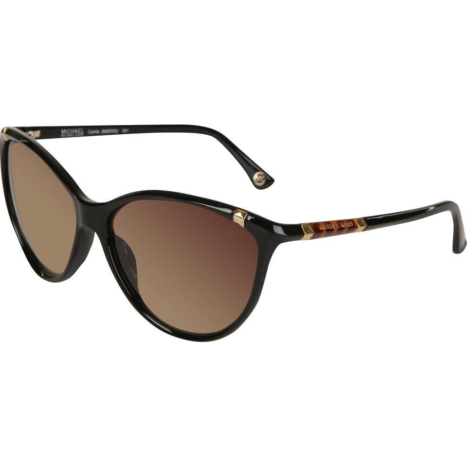 db5e78ab475d4 MICHAEL MICHAEL KORS Camila Cat Eye Sunglasses - Black - Free UK Delivery  over £50