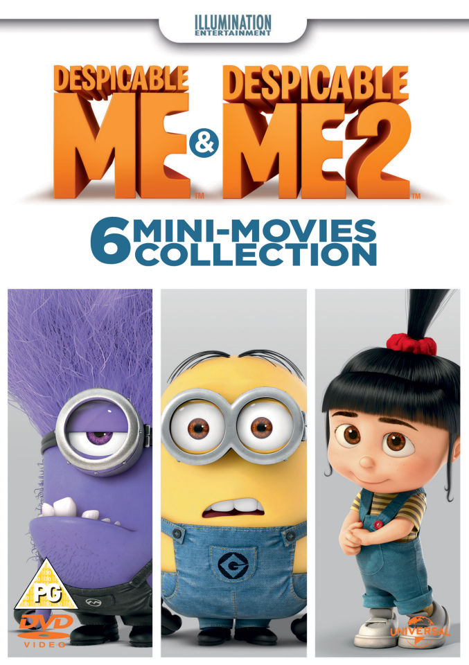 Despicable Me 1: (Mini Movies) Home Makeover / Orientation / Banana / Despicable Me 2 (Mini Movies)