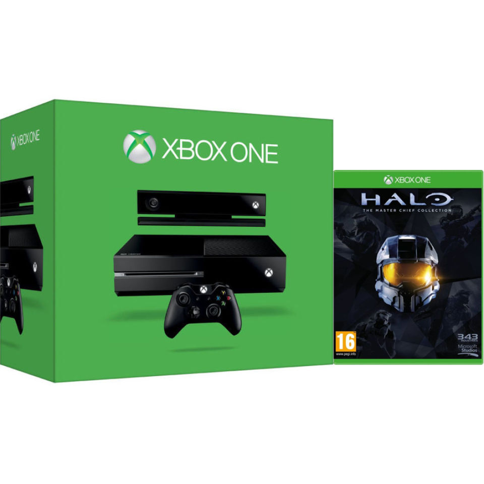 Xbox One Console With Kinect Includes Halo Master Chief Collection