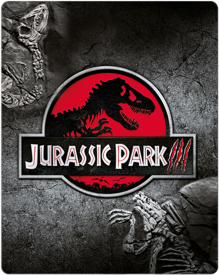Jurassic Park Iii Zavvi Exclusive Limited Edition Steelbook Limited To 3000 Copies