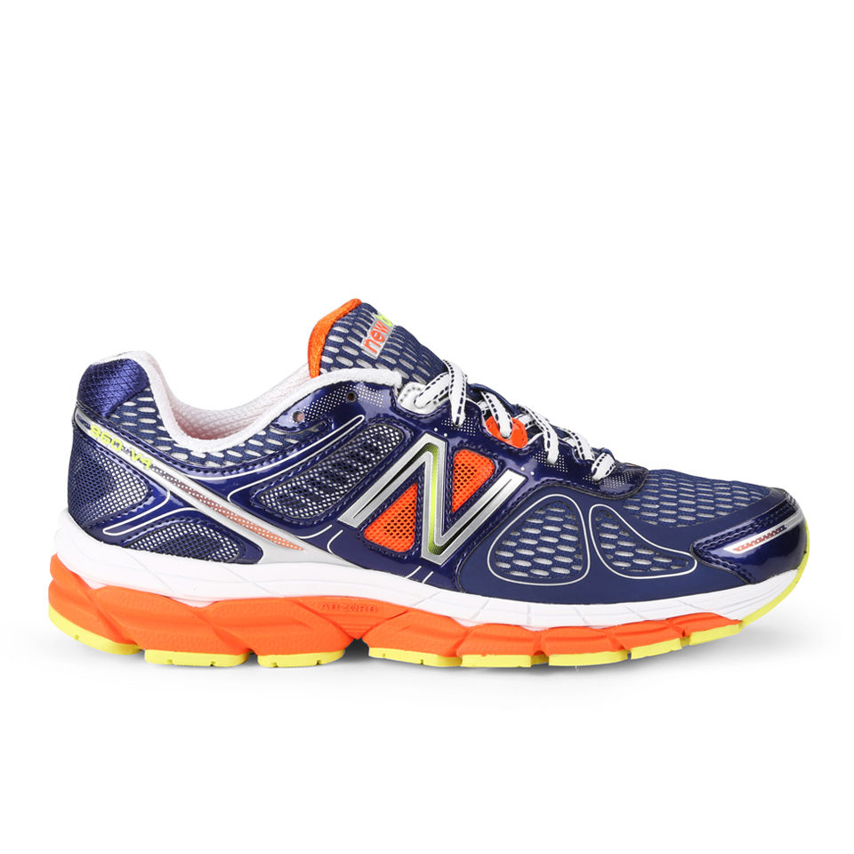 1a298c152dd9b ... New Balance Men's M860 V4 Stability Running Shoes - Blue/Orange