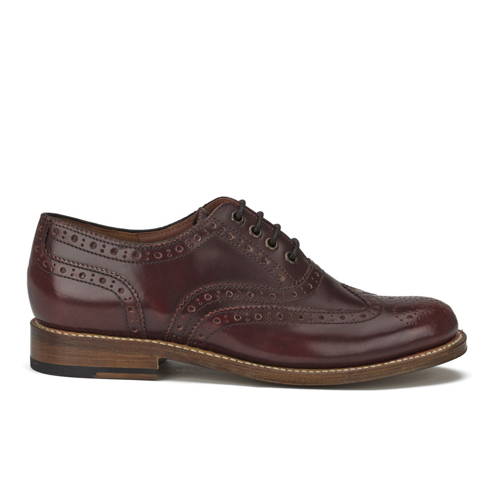 2a5aad73840 Grenson Women s Rose Leather Brogues - Honey - Free UK Delivery over £50