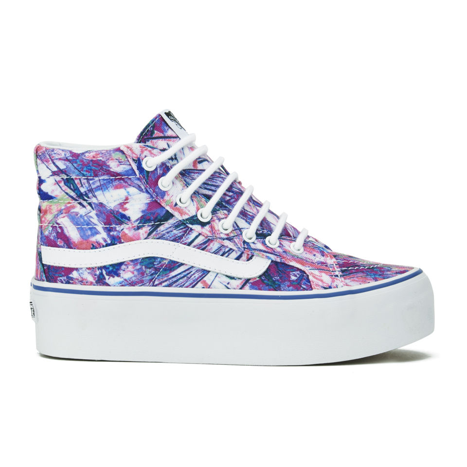 Vans Women s SK8-Hi Platform Multi Paints Hi-Top Trainers - Purple ... 6aac0a18a