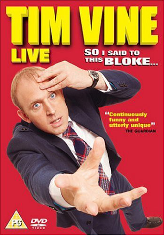 Tim Vine - Live: So I Said To This Bloke