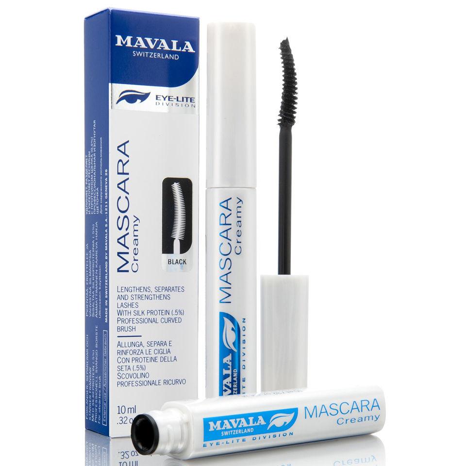 c02443697a7 Mavala Eye-Lite Creamy Mascara Treatment - Black (10ml) | Free Shipping |  Lookfantastic