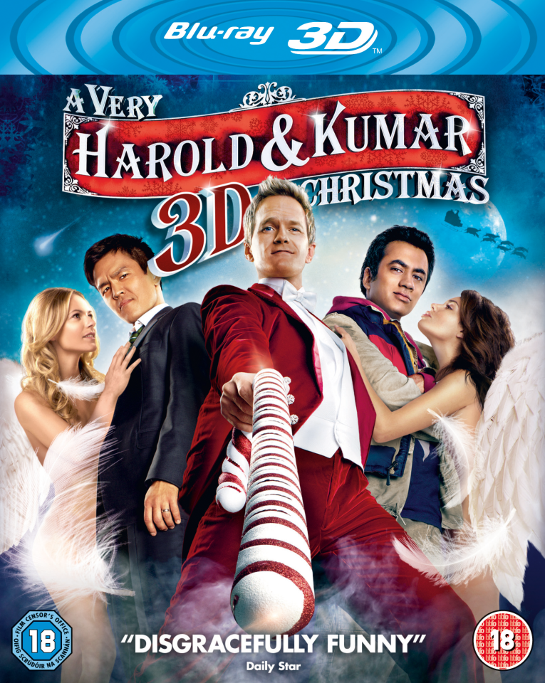 A Very Harold and Kumar Christmas 3D Blu-ray | Zavvi España