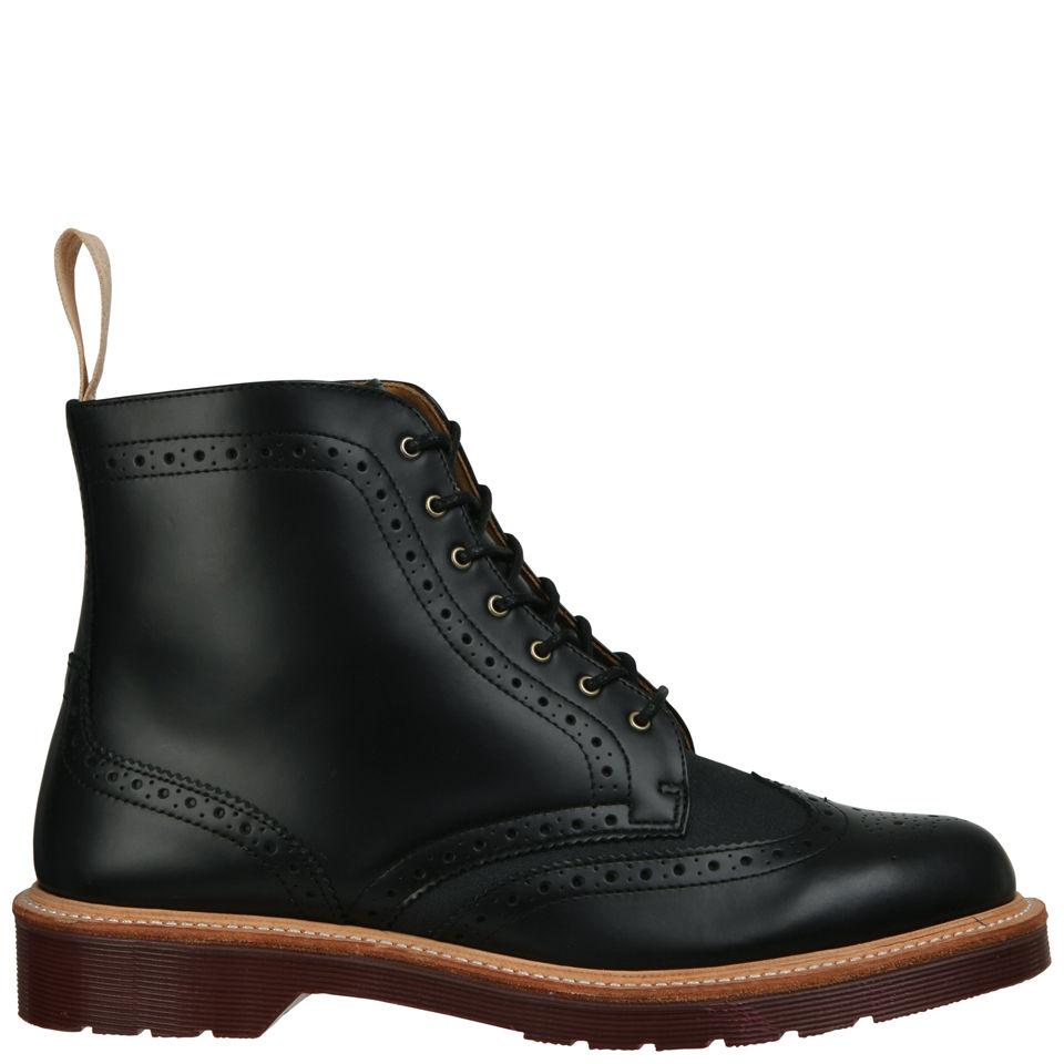 115bb54ba9 Dr. Martens Mens Windsor Bentley Brogue Boots - Black