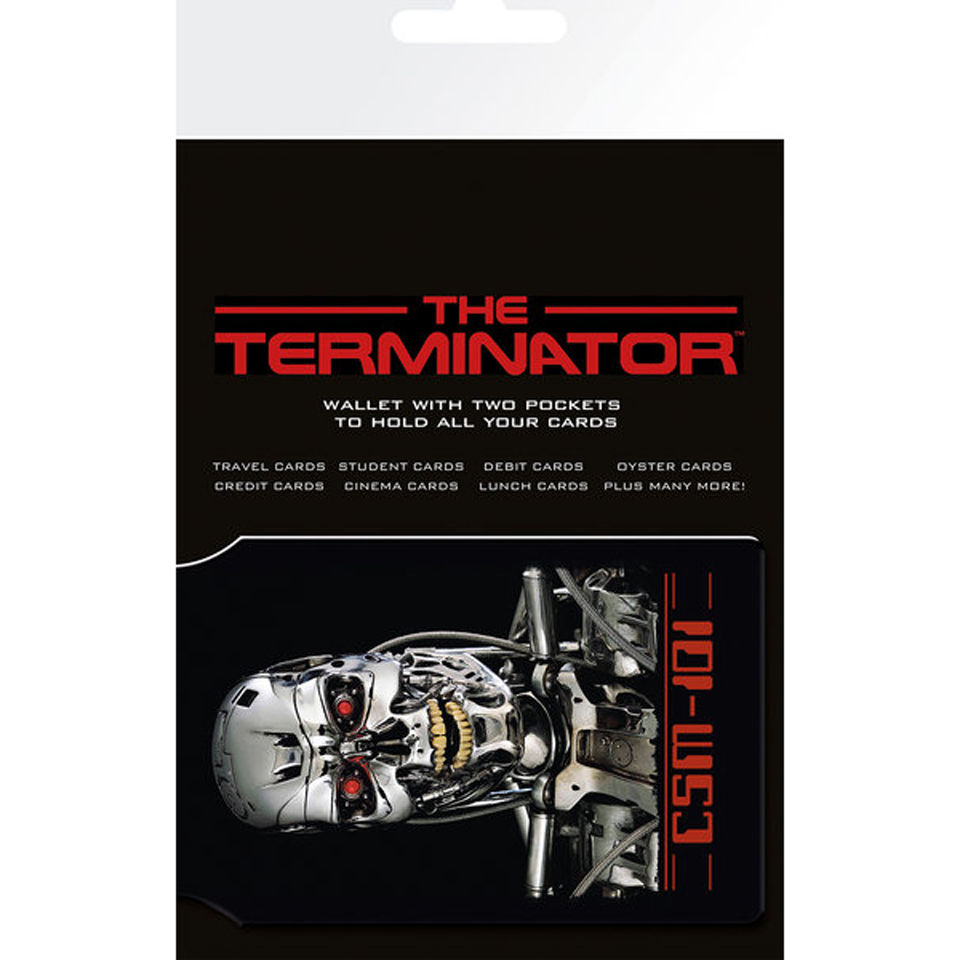 The Terminator Endoskeleton - Card Holder