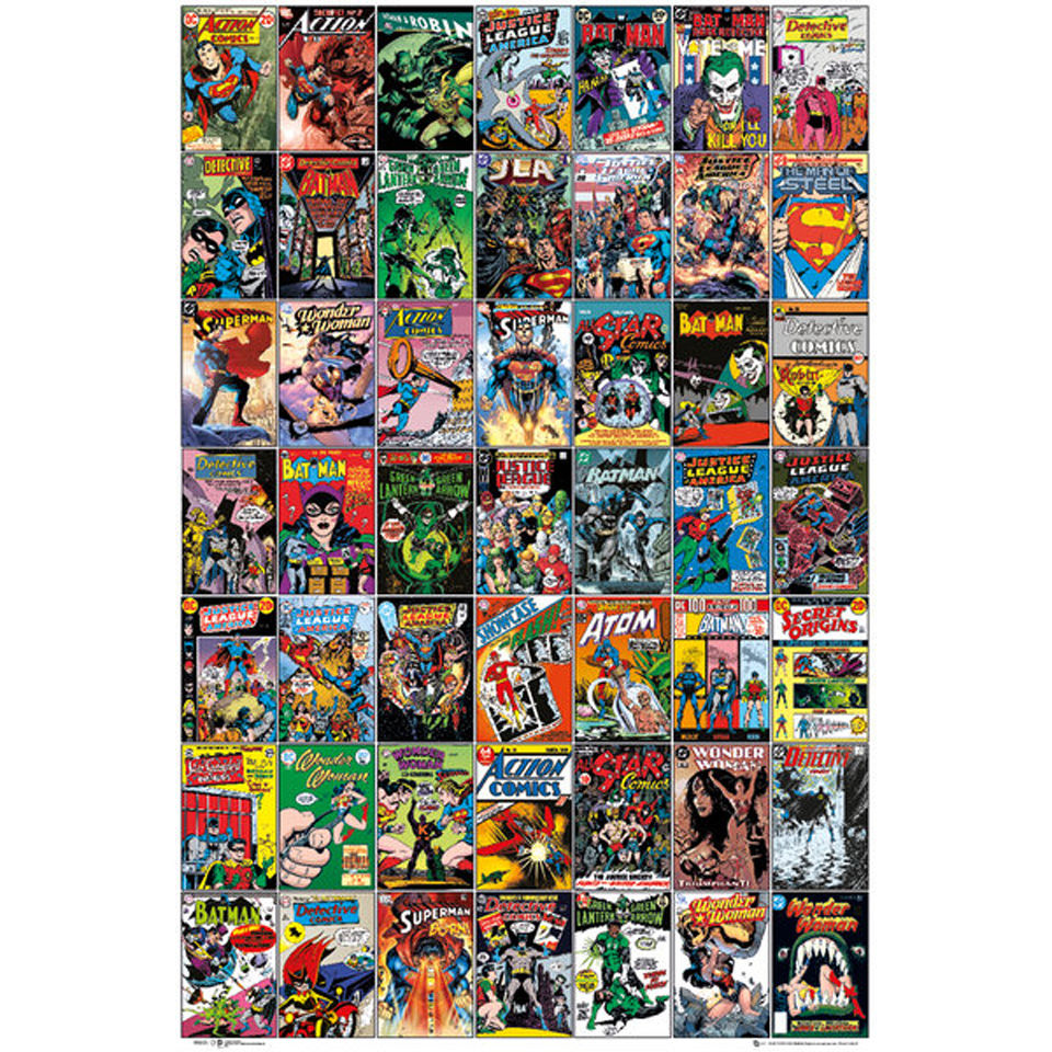 DC Comics Comic Covers - Maxi Poster - 61 x 91.5cm