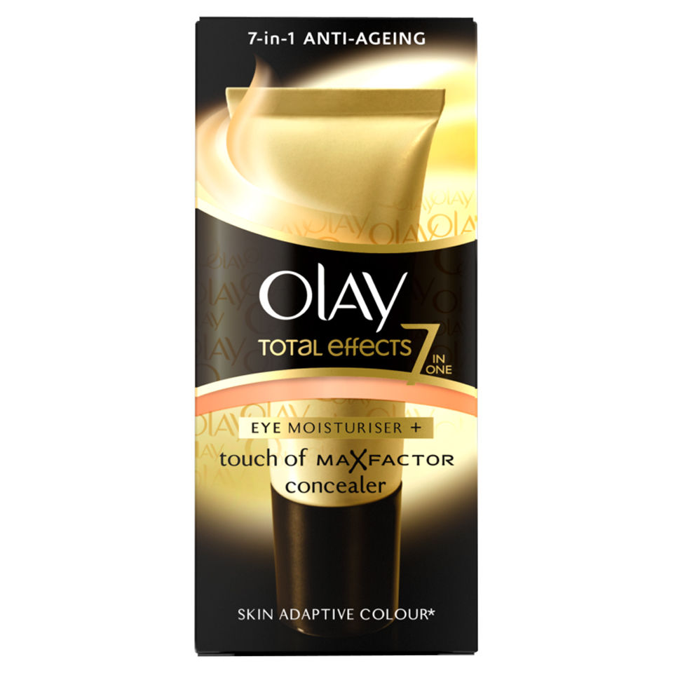 Olay total effects eye moisturiser and touch of maxfactor for A touch of gold tanning salon
