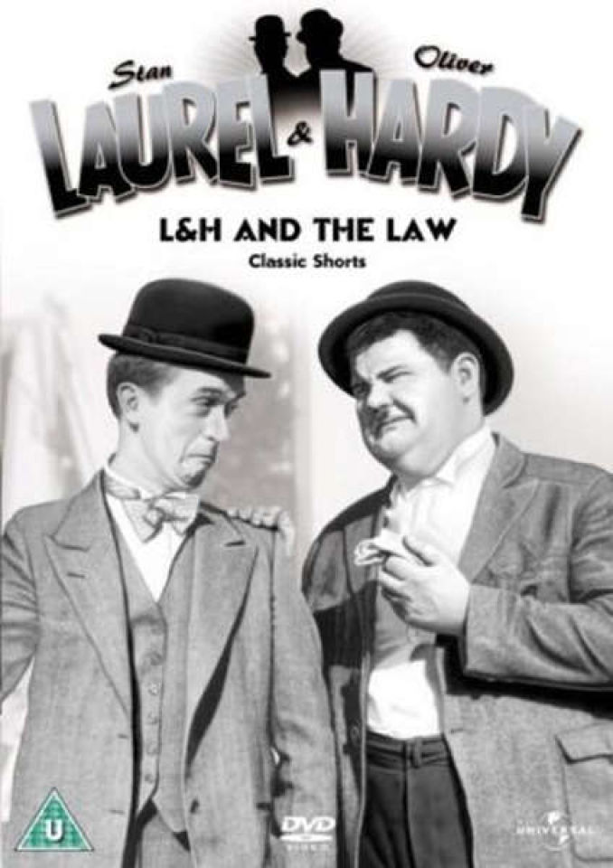 Laurel & Hardy - L&H And The Law Classic Shorts