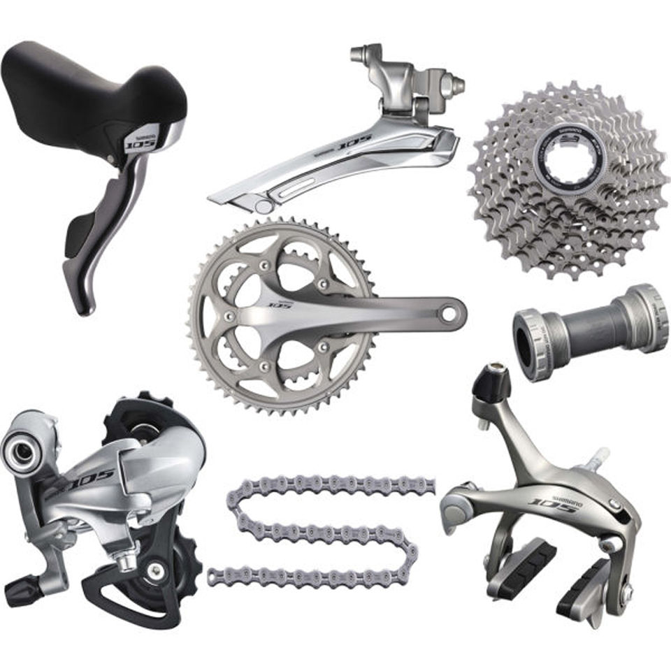 Shimano 105 5750 Compact Bicycle Groupset In A Box 5800 New