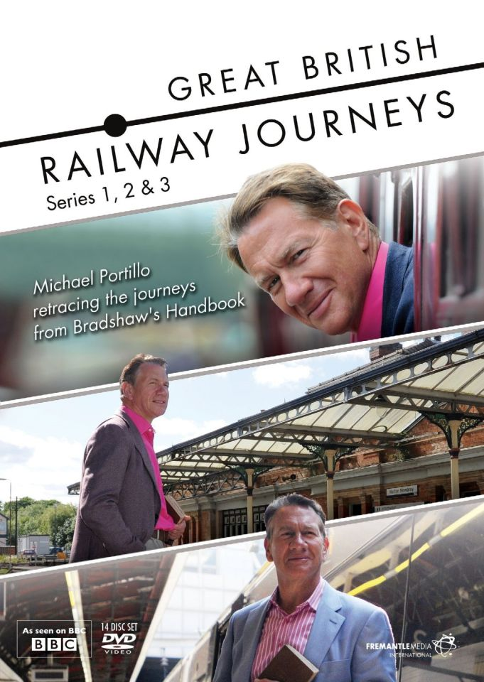 Great British Railway Journeys - Series 1-3