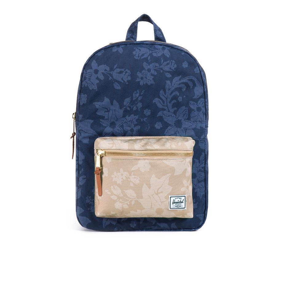Herschel Supply Co. Settlement Mid-Volume Backpack - Navy Waldorf Khaki  Waldorf - Free UK Delivery over £50 ea810746dfe19